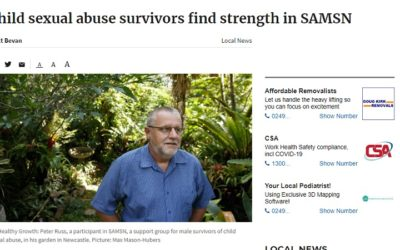 Child sexual abuse survivors find strength in SAMSN